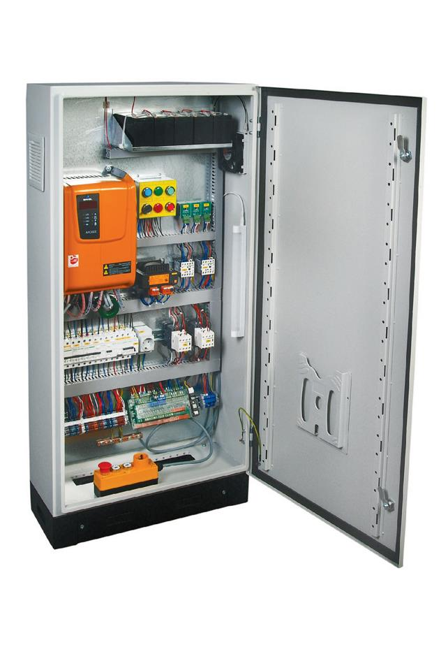 Arcode Lift Control Panel