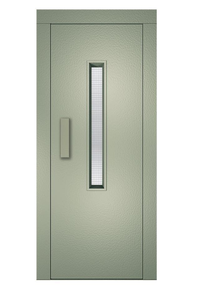 Lift Door Painted Ral 7032 Elevator Door Painted Ral 7032