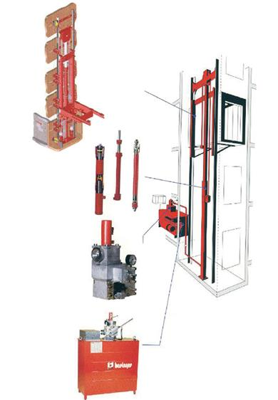 Kleemann Hydraulic Lift Systems.