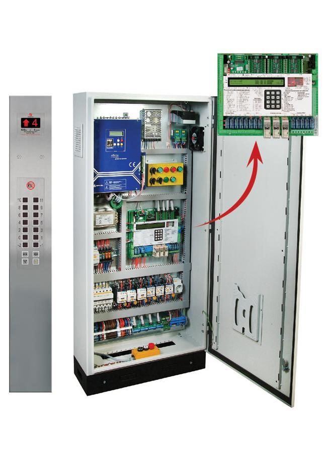 Lisa Schneider Lift Control Panel
