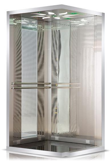 Pyramıd Model Asansör Kabini.